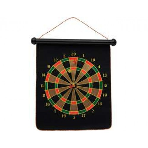 Double sided magnetic dart board 30-MAG