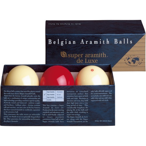 Super Aramith Carom Deluxe Ball Set BBACDLX