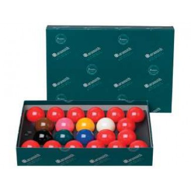 "Aramith English 2.125"" No Number Snooker Set"