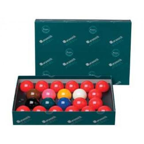 "Aramith English 2.125"" No Number Snooker Set BBAES2.125"