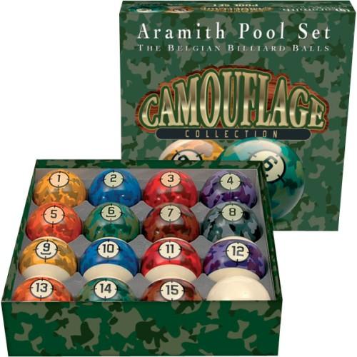 Aramith Camouflage Ball Set BBCAM