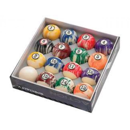 White Marble Ball Set BBWM