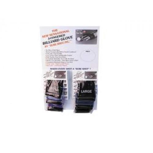 Sure Shot Glove Asst. Card-12 BGSS12