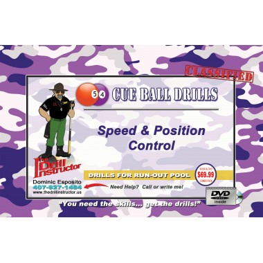 Drill Instructor- Cue Ball Drills