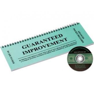 Joe Tuckers Guaranteed Improvement Book and DVD Set