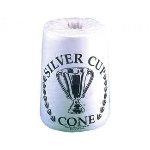 Silver Cup Cone Chalk - Single Cone CHSCC1