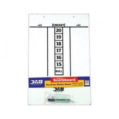 Dry Erase Score Board - Darts