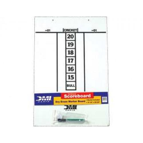 Dry Erase Score Board - Darts GADESB