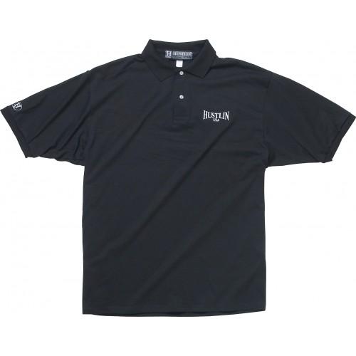 Hustlin USA Cotton Polo Shirt HUSPOLO