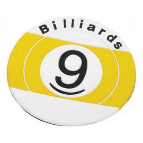 9 Ball Coasters NICR02