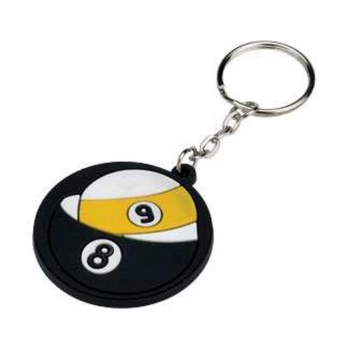 Key Chain - Rubber 9 & 8 NIKC98