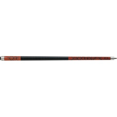 Outlaw - 22 - Cherry 8-Ball w/ Barbed Wire Pool Cue
