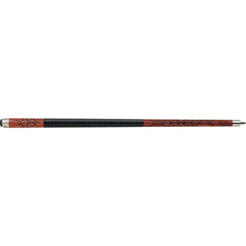 Outlaw - 22 - Cherry 8-Ball w/ Barbed Wire Pool Cue OL22