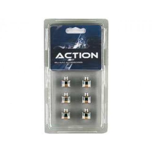 Screw-on tips (6) (Blister Pack) QT6SCT