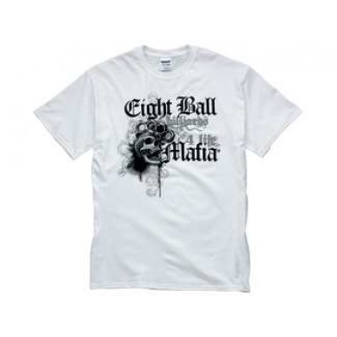 White Eight Ball Mafia T-Shirt