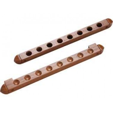 8 Cue Wall Rack/2 pc Holes