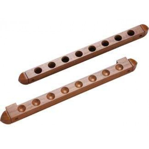 8 Cue Wall Rack/2 pc Holes WR2P8H